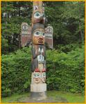 Kadjuk Bird Totem Pole
