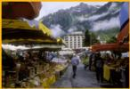 Market Day in the Alps