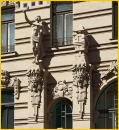 Art Nouveau Building Figures