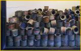Canisters which Held ZYKLON B