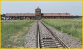 Rail Entrance to Birkenau